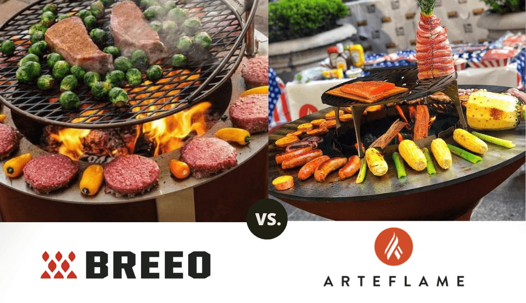 Best Fire Pit Grills: , Breeo vs. Arteflame, (2021 Review) cover image