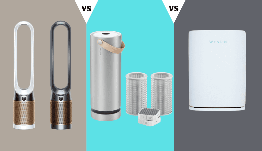 Do You Struggle to Breathe?, Top 3 Home Air Purifiers:, Dyson vs. Molekule vs. Wynd cover image