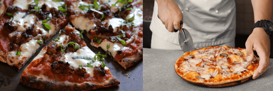Ooni vs Roccbox vs Bertello Pizza Oven Review - Pizza Image
