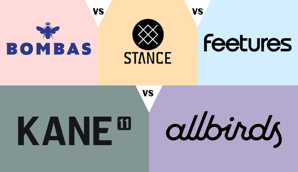 Nice to Feet You!, Top Five Comfy Socks:, Bombas, Stance, Feetures,, Kane 11, and Allbirds cover image